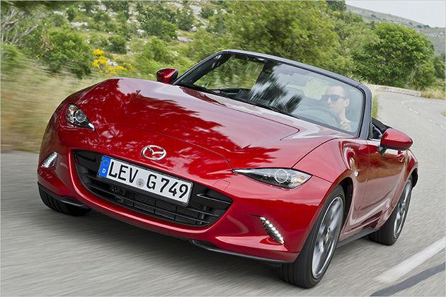 Der neue Mazda MX-5 im Test mit technischen Daten und Preis zur Markteinführung
