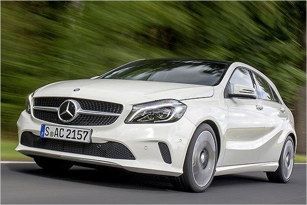 Mercedes A-Klasse im Test im technischen Daten und Preis zum Marktstart