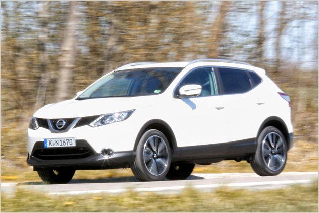 Nissan Qashqai 1.6 DIG-T im Test mit technischen Daten, Preis und Verbrauch
