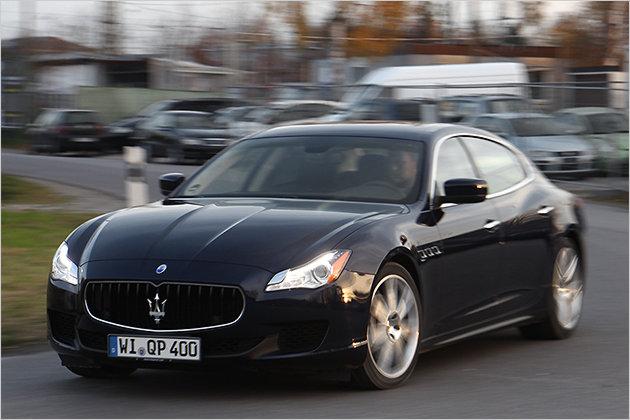 Test Maserati Quattroporte Diesel mit technischen Daten und Preis
