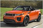Mehr als Barbies neues Freizeitmobil? Range Rover Evoque Cabrio im ...