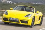 Alles hin mit vier Zylindern? Test Porsche 718 Boxster mit technisc...
