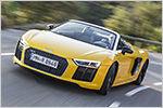 Klang und Drang: Test Audi R8 Spyder V10 mit technischen Daten, Pre...