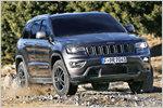 """Jeep Grand Cherokee (2017) als """"Trailhawk"""", """"Summit"""" und """"SRT"""" im T..."""