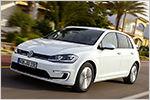 Schneller, weiter, besser? Test VW e-Golf 2017 mit technischen Date...
