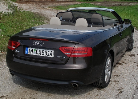 audi a5 cabrio 2 7 tdi offener sch ngeist. Black Bedroom Furniture Sets. Home Design Ideas