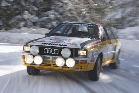 30 Jahre Audi Quattro - Die Präzisionsmaschine