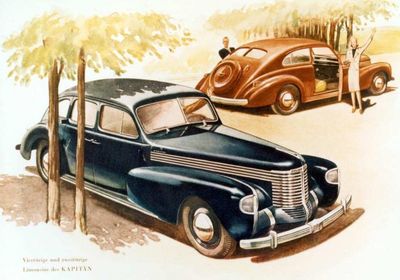 75 Jahre Opel Kapitän - Nimm mich mit