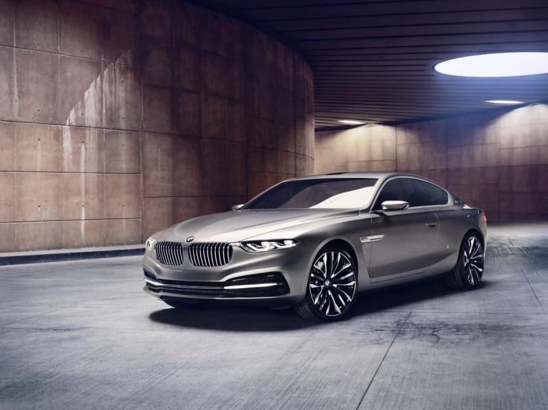 BMW Gran Lusso Coupé - Wird das der neue 8er?