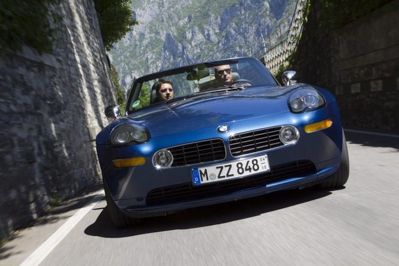 BMW Z8 - Im Dienste Ihrer Majestät