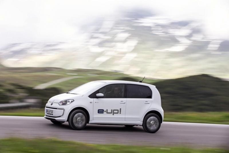 Der neue VW e-Up