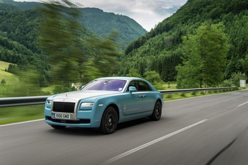 Rolls-Royce Ghost Centenary Edition - Fahren oder nicht fahren?