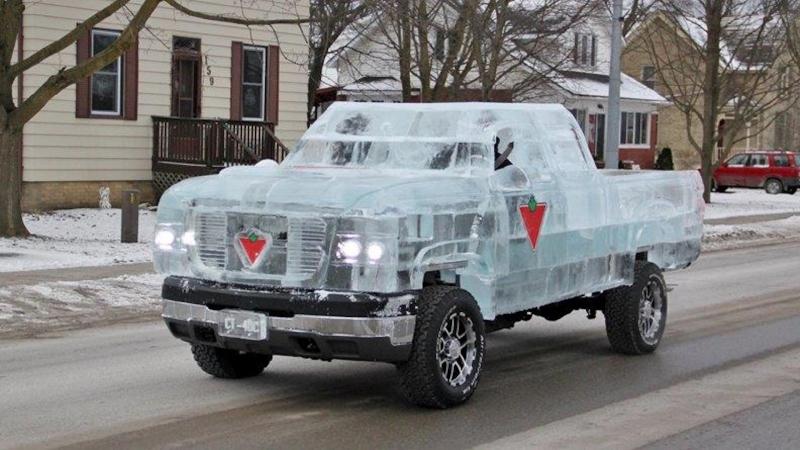 Ice Pickup-Truck - Kaltes Meisterstück