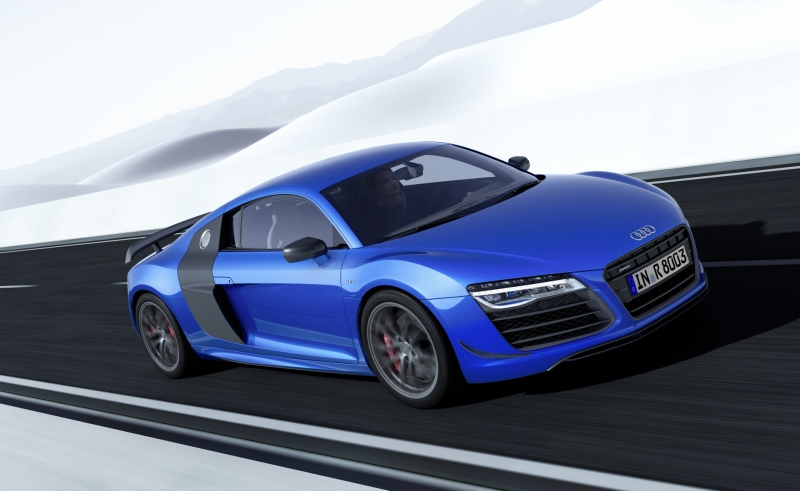 Audi R8 LMX - Laserangriff