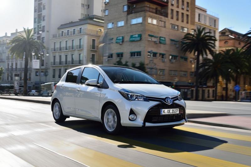 Toyota Yaris Hybrid - Frischgemachter Sparzwerg