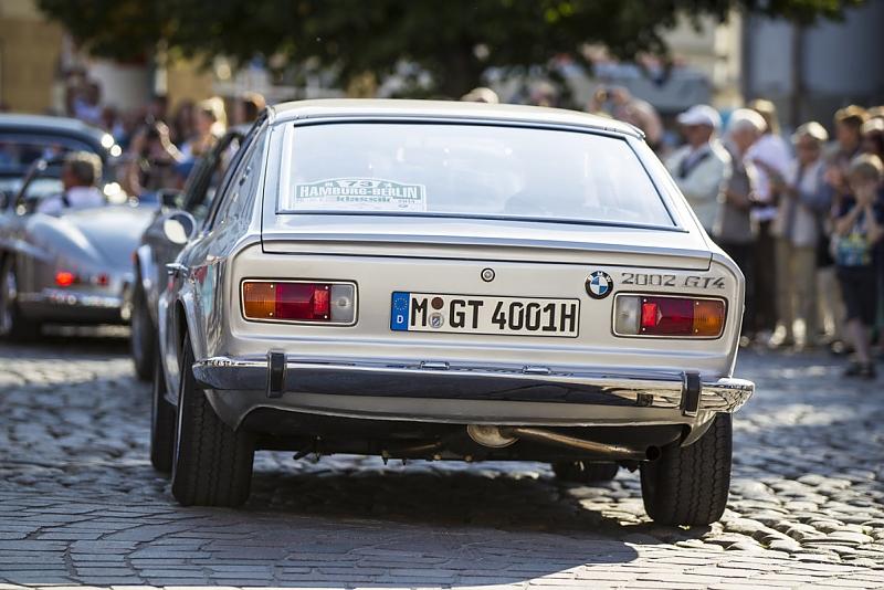 BMW 2002 GT4 Frua - mit seinem spektakulären Heck