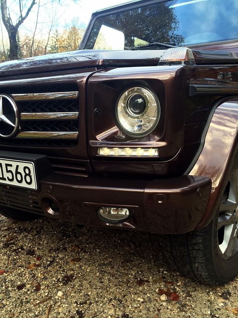 Mercedes G 500 - Elitäres Kantholz