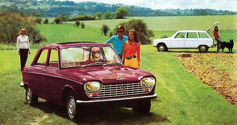 1968 gehört der Peugeot 204 schon zu den Publikumslieblingen.