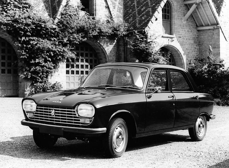 Insgesamt produziert Peugeot über 1,6 Millionen 204er.