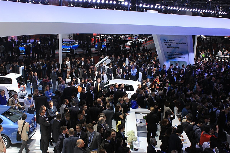 Auto China 2015 Shanghai - Erfolgsverwöhnt