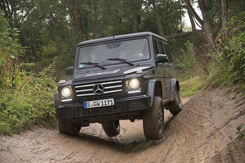Mercedes-Benz G 350 d - Viel Geld für den Matsch