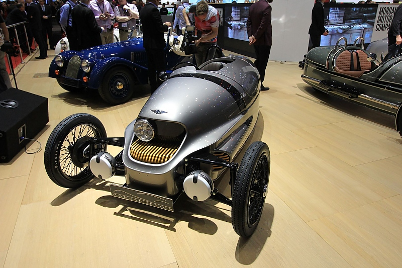 Morgan EV3 Concept - Rollende E-Zigarre