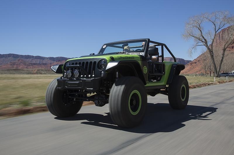 Jeep Trailcat Concept - Grünes Monster