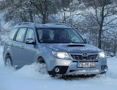 Subaru Forester - das Holzfäller-SUV