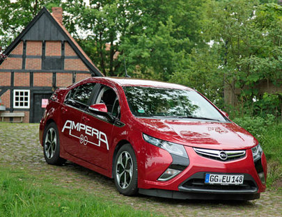 Opel Ampera – Zukunft Elektrik