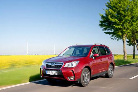 Subaru Forester – Der Gentlemen-Boxer