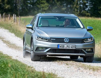 VW Passat Alltrack 4Motion – Entdeck' den Dreck