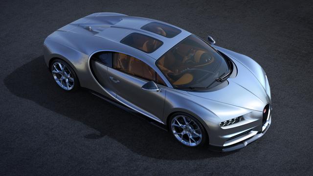 Bugatti Chiron mit Glasdach - Sonnige Aussichten