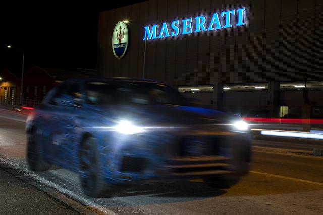 Maserati Grecale - Erste Bilder vom neuen Italo-SUV