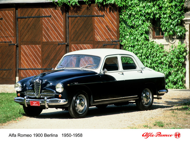 Tradition: 70 Jahre Alfa Romeo 1900 - Mit Vollgas und Vielfalt in die Moderne