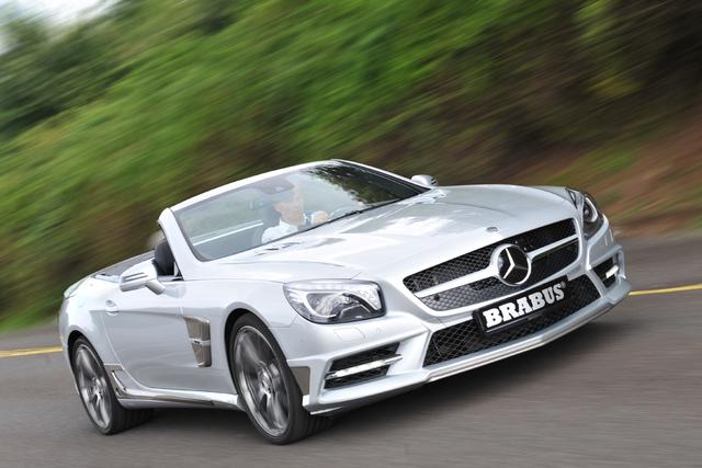 Mercedes SL Brabus - Bulle aus Bottrop