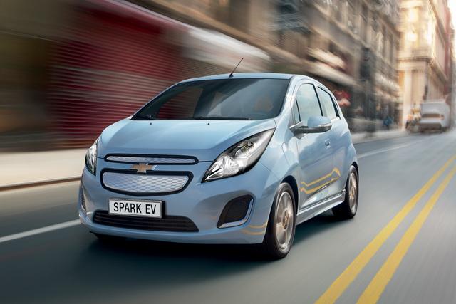 Chevrolet Spark EV - Funkenfrei elektrisch