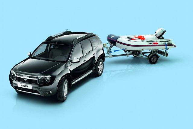 Dacia Duster und Yamaha Boot - Flexible Kooperation