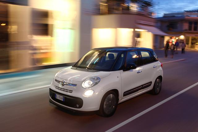 Fiat 500 L Designgarage - Cappuccino und Probefahrten