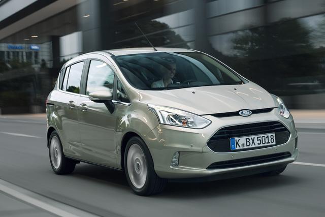 Test: Ford B-Max - Das bessere Mini-SUV