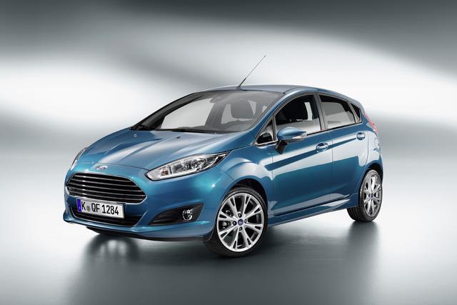 Überarbeiteter Ford Fiesta - Facelift-Modell ab 10.950 Euro