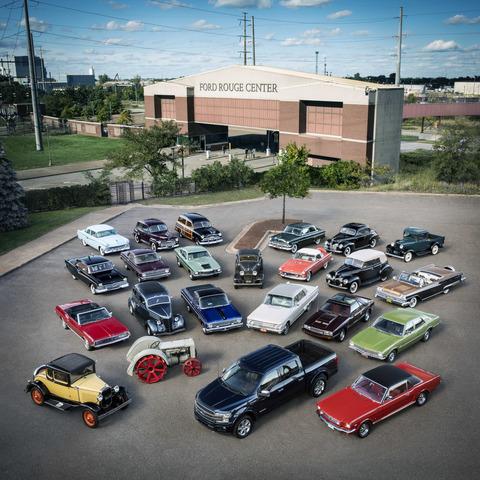 Tradition: 110 Jahre Ford US-Modelle in Deutschland                 - Pferdeflüsterer, Prairiebullen und Dramaqueens