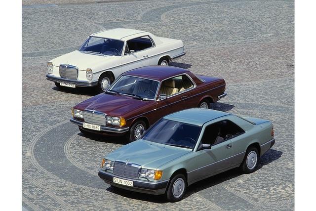Tradition Mercedes-Benz E-Klasse Coupés (C 123/C 124) - Probier's mal mit Persönlichkeit