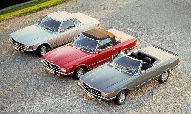 Tradition 50 Jahre Mercedes-Benz 280 SL bis 560 SL (R 107) - Deutschlands beliebtestes Oldtimer-Cabriolet