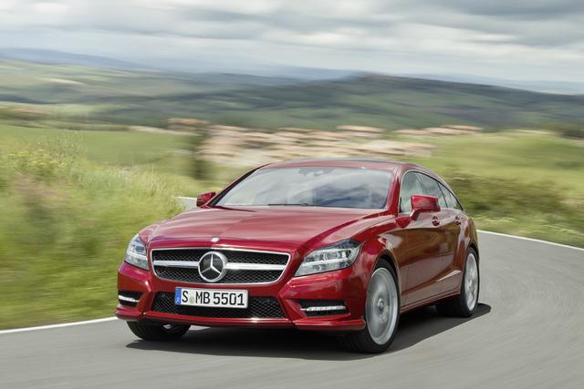 Mercedes  CLS - Luxus schafft sich Raum