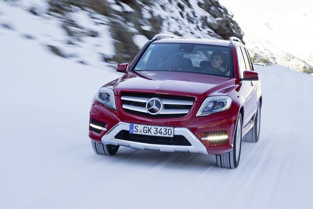 Mercedes-Allradantrieb - Es werden immer mehr (Kurzfassung)
