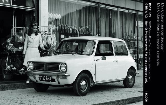 Tradition: 50 Jahre Mini Clubman - Lifestyle, der neue Lebensgeister weckte