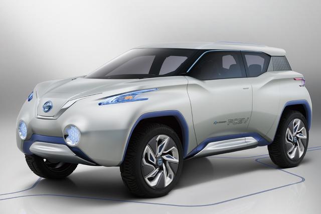 Nissan auf dem Pariser Automobilsalon - Sauber auch ohne Hybrid und eine Prise Sport