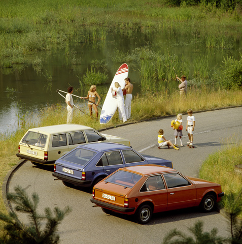 Tradition: 40 Jahre Opel Kadett D - Fritz will das!
