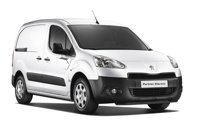 Elektrischer Citroen Berlingo/Peugeot Partner - Sauber geliefert