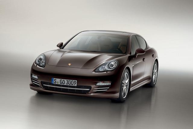 Porsche Panamera Platinum Edition - Schnelles Edelmetall
